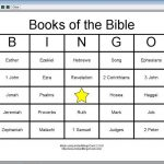 View Document Books The Bible Bingo Cards 603933 « Coloring