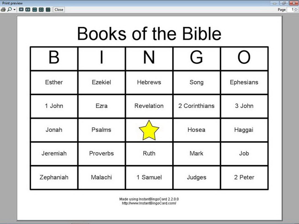 View-Document-Books-The-Bible-Bingo-Cards-603933 « Coloring