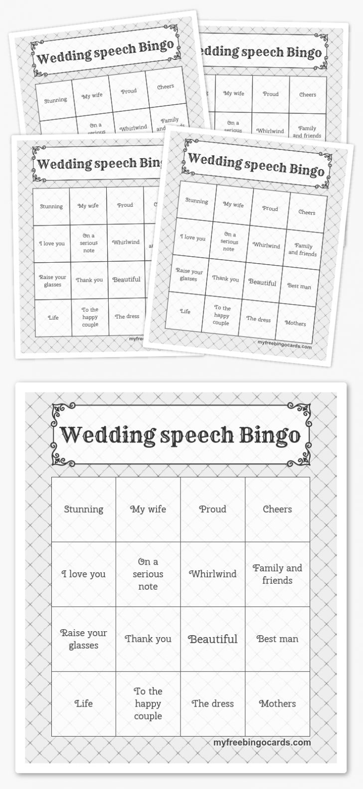 Free Printable Bingo Cards Custom