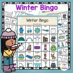Winter Bingo   Fun With Mama