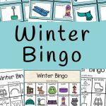 Winter Bingo   Fun With Mama