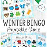 Winter Bingo Game   Winter Activiteiten, Winter Knutselen En