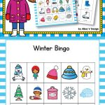 Winter Bingo Game   Winter Activities For Kindergarten