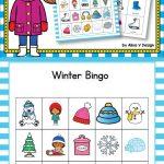Winter Bingo Game   Winter Activities For Kindergarten