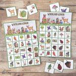 Woodland Bingo Forest Animals Free Printable | Bingo