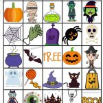 21 Eerily Enjoyable Halloween Bingo Cards | Kittybabylove