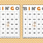 30 Bb8 Star Wars Bingo Cards   Instant Download   Printable