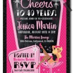 40Th Birthday Woman Saying | 40Th Birthday Invitations, 40Th