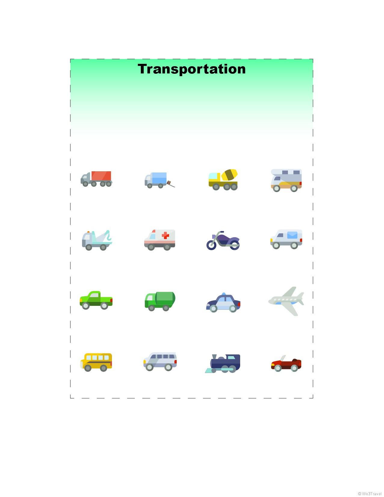 5 Free Road Trip Bingo Printables For Kids - We3Travel Blog