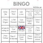 A Royal Wedding Watch Party & Royal Wedding Bingo   Wedding