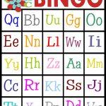 Abc's Bingo  Free Printable!   Sassy Sanctuary