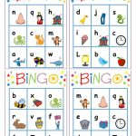Alphabet Bingo   English Esl Worksheets For Distance