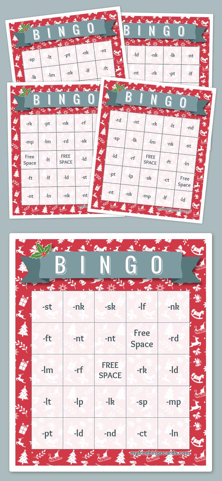 B I N G O Bingo | Christmas Bingo, Free Printable Bingo