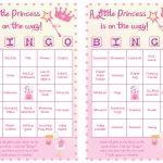 Baby Shower Bingo For 40 Guests