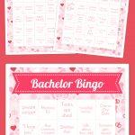 Bachelor Bingo | Vday Events | Bingo Card Generator, Free