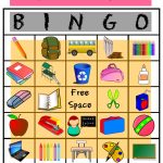 Back To School Bingo | Printable Activities For Kids, Back