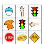 Bike Safety Bingo Card | Bingo Cards, Cards, Bike Safety