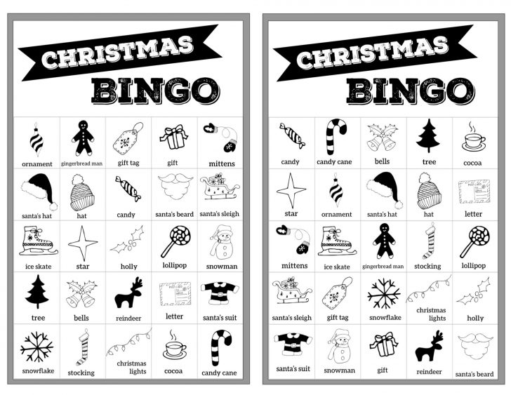 Bingo Free Printable Cards