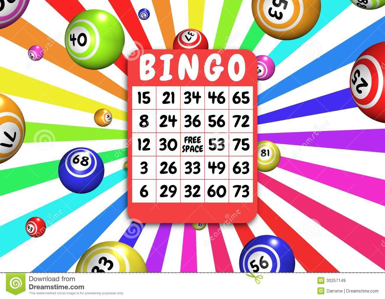 Bingo Card Clipart Free