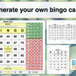 Bingo Card Generator Excel Tutorial