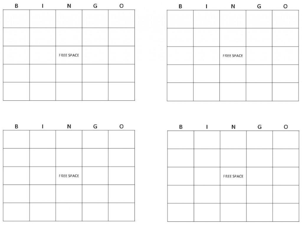 Bingo Card Template | Bingo Template