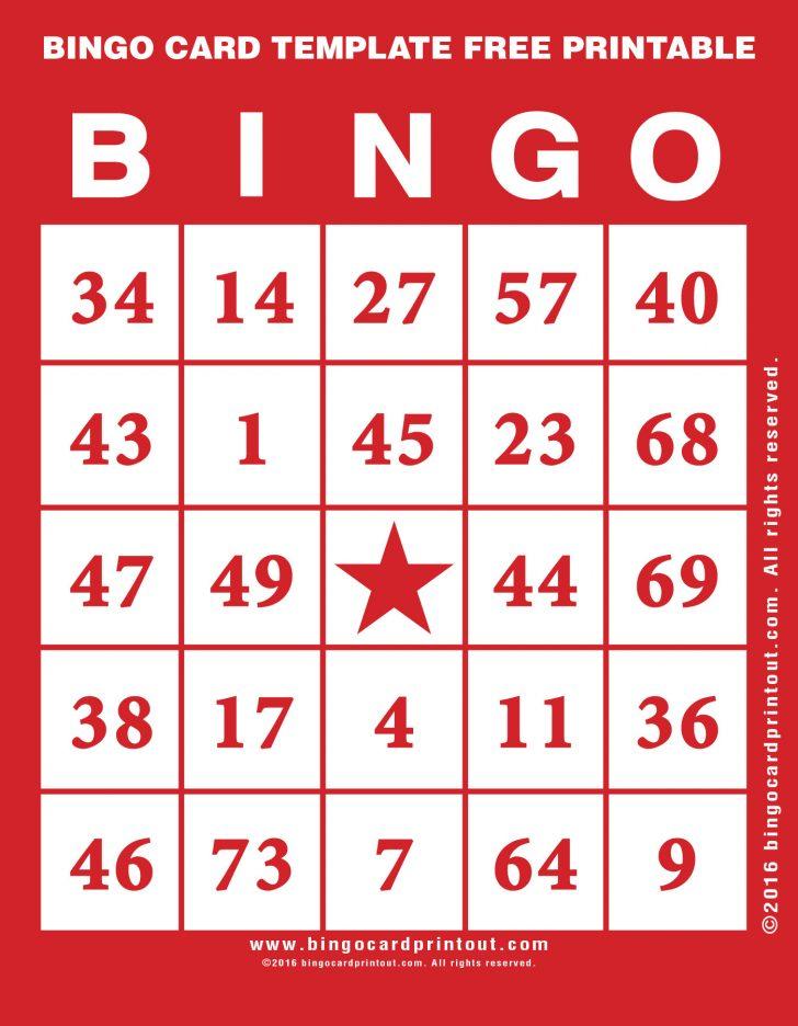 Bingo Card Generator Printable