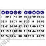 Bingo Numbers 1 To 100   Esl Worksheetgabyca145
