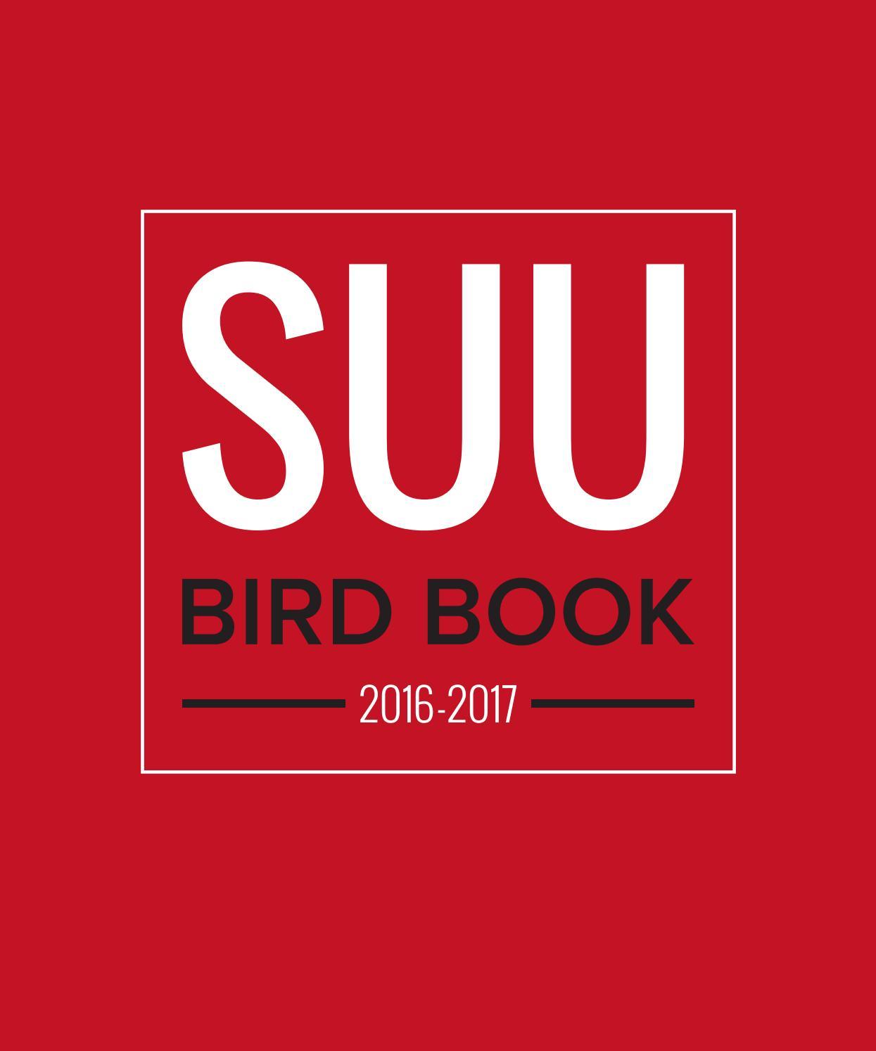 Bird Book 2016-17Southern Utah University - Issuu