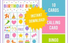 Birthday Bingo Game | Best Party Ideas | Bingo Games