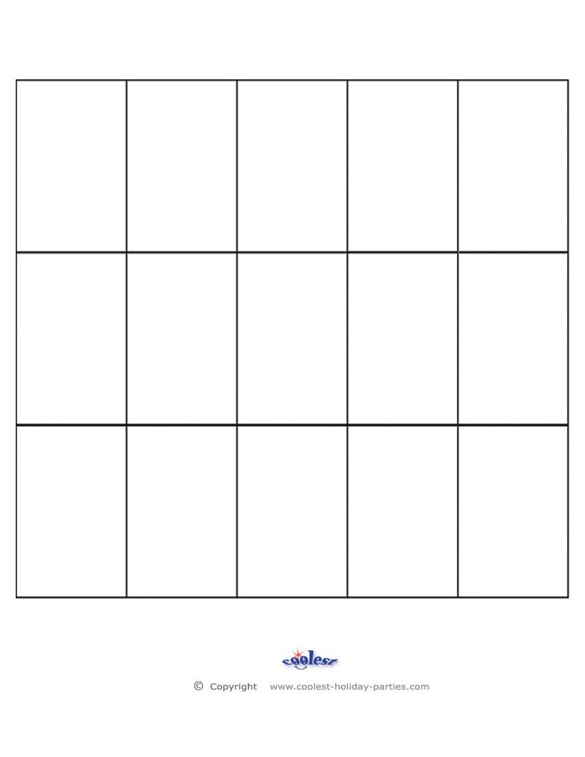 Blank-Bingo-Call-Sheet - Coolest Free Printables