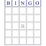Blank Bingo Cards   If You Want An Image Of A Standard Bingo