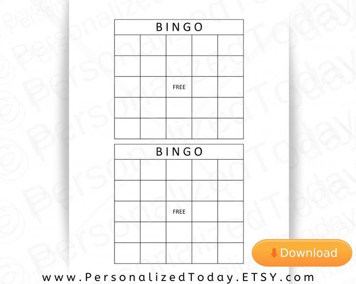 Personalized Printable Bingo Cards