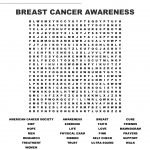 Breast Cancer Awareness Word Search   Wordmint