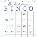 Bridal Bingo Cards   Printable Download   Prefilled   Bridal