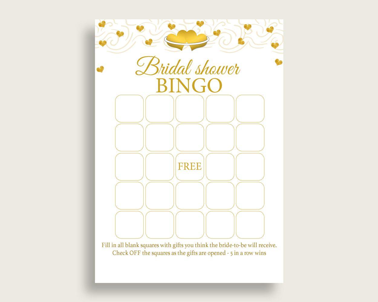 Burgundy Bridal Shower Blank Bingo Game Cards Printable