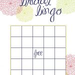 Busy Weekend In The Bow World | Bridal Bingo, Bridal