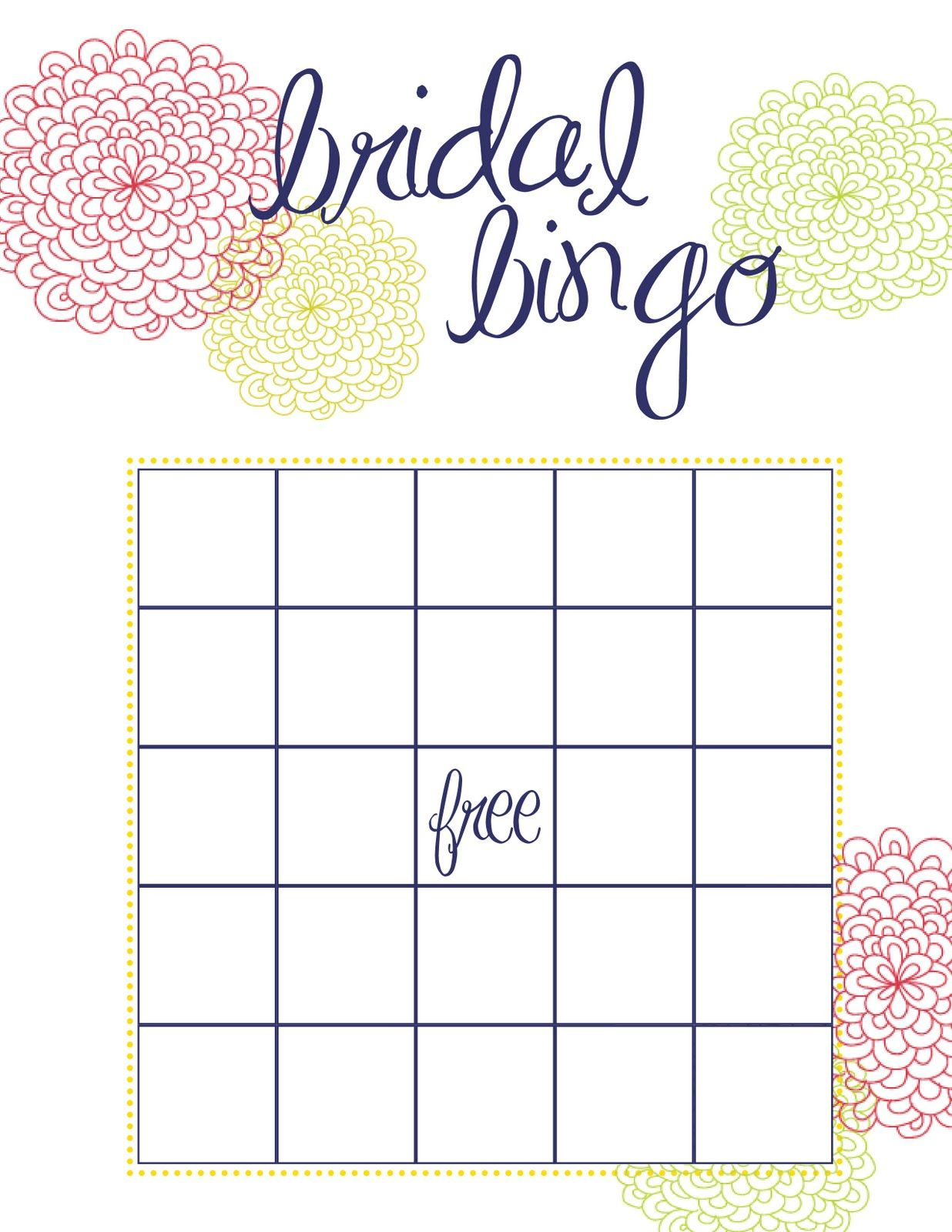 Busy Weekend In The Bow World | Bridal Bingo, Bridal