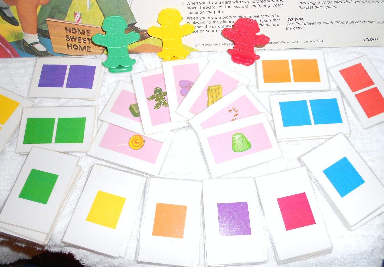 Candyland Board Game Cards | Candyland Games, Candyland