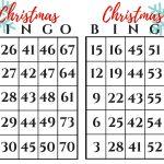 Christmas Bingo Gift Exchange Game   December Pin Challenge