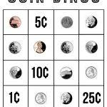 Coin Bingo Free Printable   The Crafting Chicks
