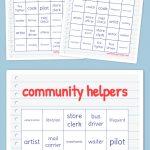 Community Helpers Bingo   Bingo Cards Printable, Free Bingo