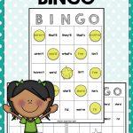 Contractions Bingo Game   Bingo Games, Blank Game Board
