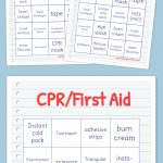 Cpr/first Aid Bingo | Bingo Cards Printable, Free Printable