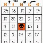 Crafty In Crosby: Free Printable Halloween Bingo Game