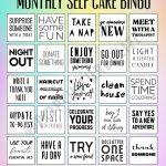 Digital Prints   Self Card Bingo   To Do Printable   Mental Health  Awareness   Mental Health Printable Planner   Mental Health Printable