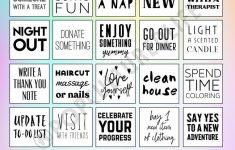 Digital Prints – Self Card Bingo – To Do Printable – Mental Health  Awareness – Mental Health Printable Planner – Mental Health Printable