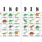 Dinosaur Bingo Cards   Dinosaurussen, Feestje En Verjaardag