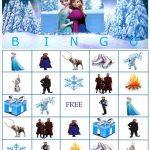 Disney Frozen Bingo Instant Downloadyummilicioustreats
