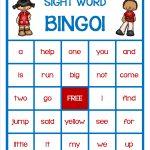 Dolch Pre Primer Sight Word Game   Bingo | Pre Primer Sight