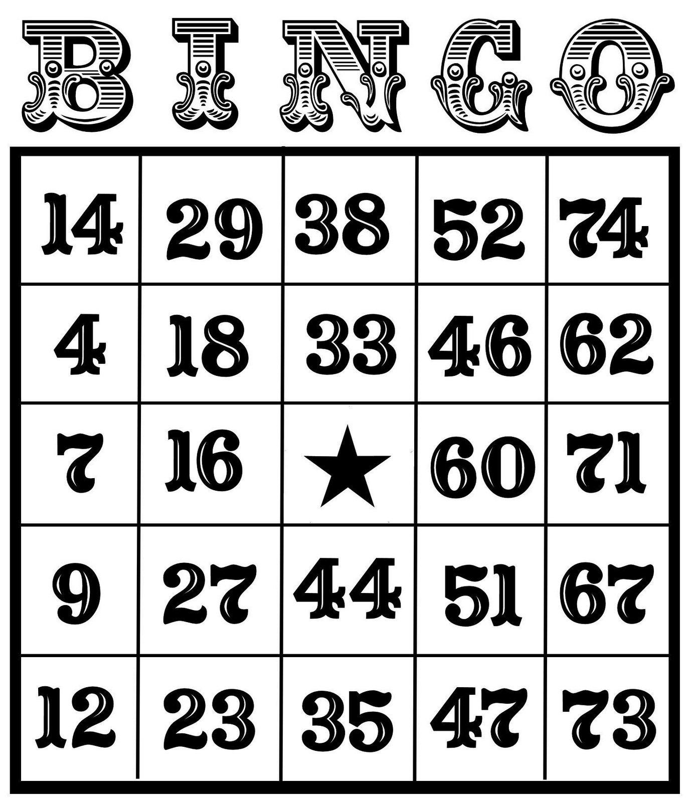 Download Christine Zani Bingo Card Printables To Share